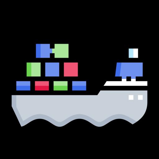 Cargo ship  free icon
