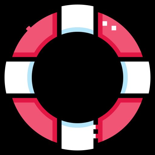 구명 부표  무료 아이콘