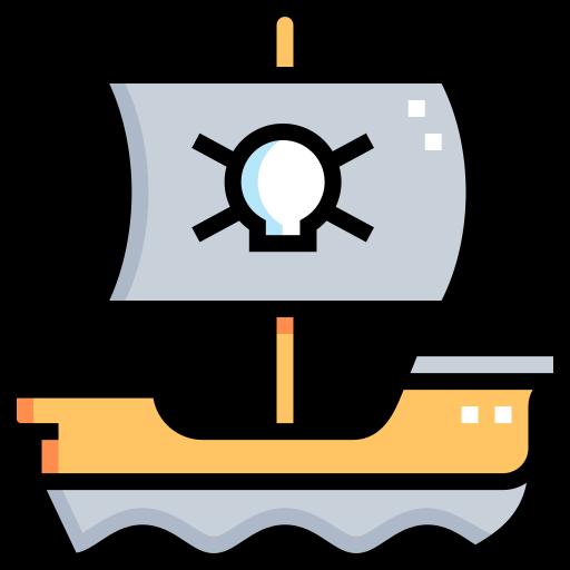 해적선  무료 아이콘