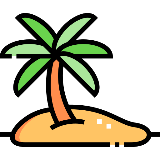 섬  무료 아이콘