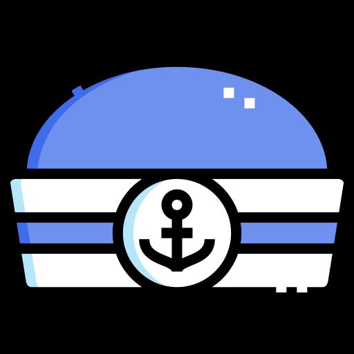 chapeau de marin  Icône gratuit