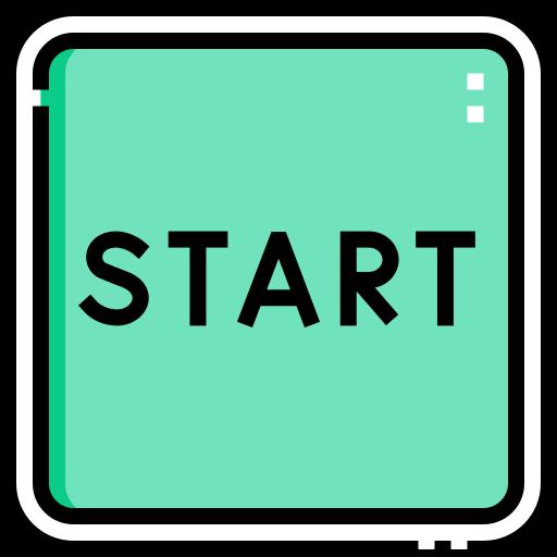 Start button  free icon
