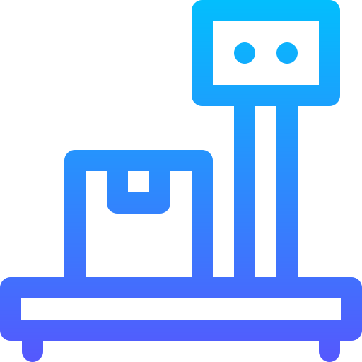 Scale  free icon