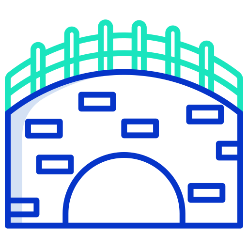 Canal  free icon