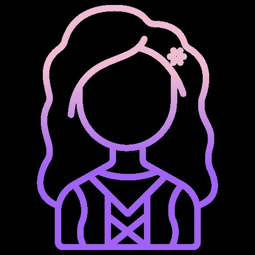 Dutch woman  free icon
