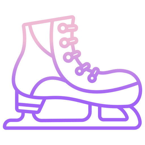 Ice skating shoes  free icon