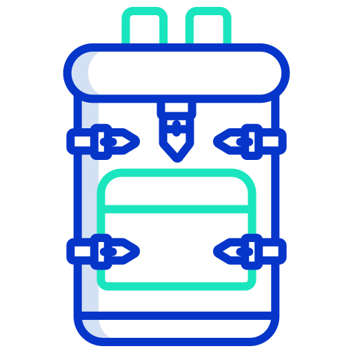 Backpack  free icon