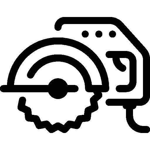 Circular saw  free icon