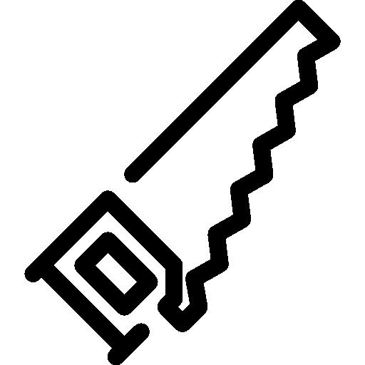 sierra  icono gratis