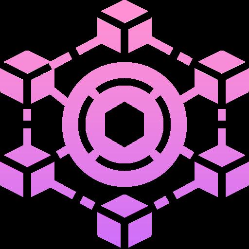 Blockchain  free icon