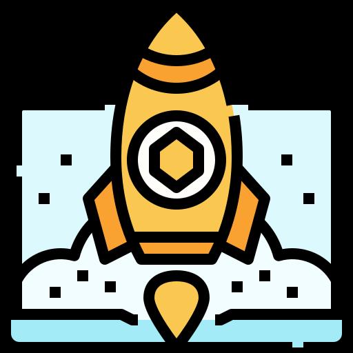 foguete  grátis ícone