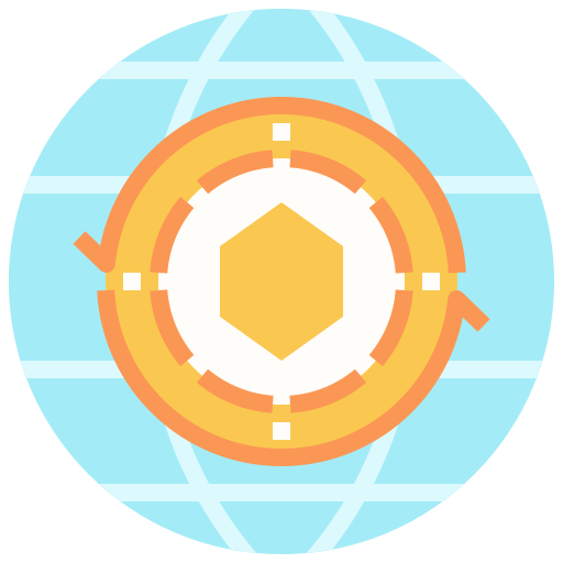 Globe network  free icon