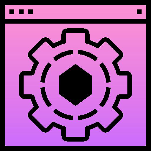 Setting  free icon