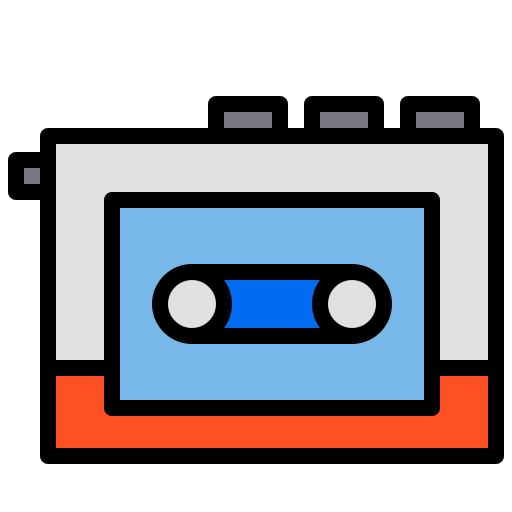 Tape player  free icon
