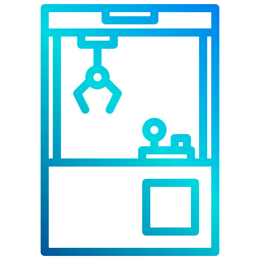 Claw machine  free icon