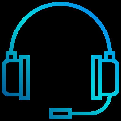 casque de musique  Icône gratuit