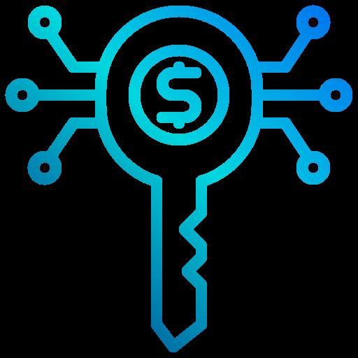 clé  Icône gratuit