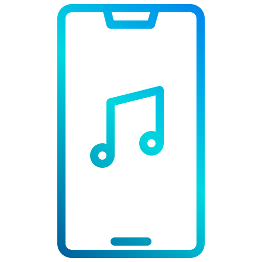 application de musique  Icône gratuit