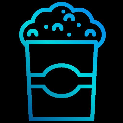 pop corn  Icône gratuit