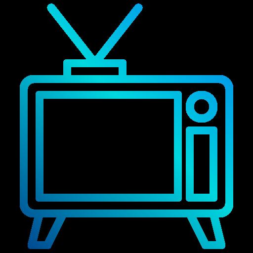 télévision  Icône gratuit
