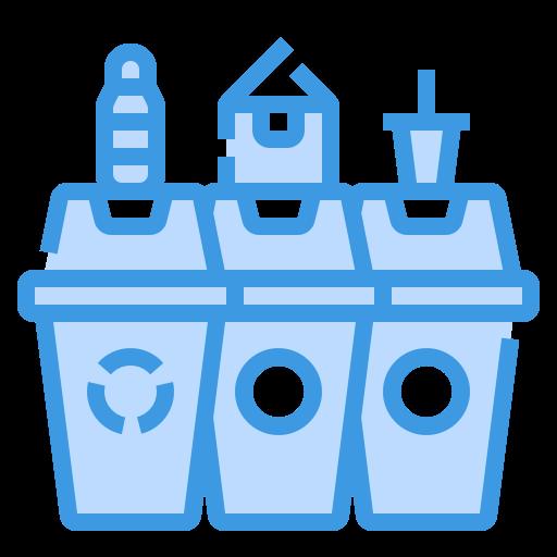 Garbage bin  free icon