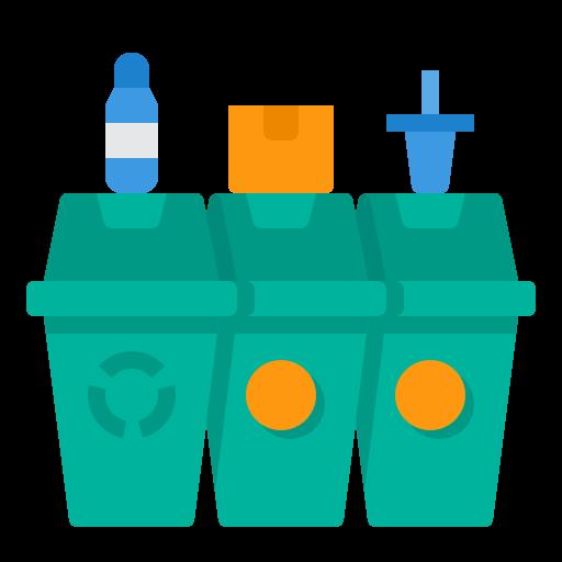 lata de lixo  grátis ícone