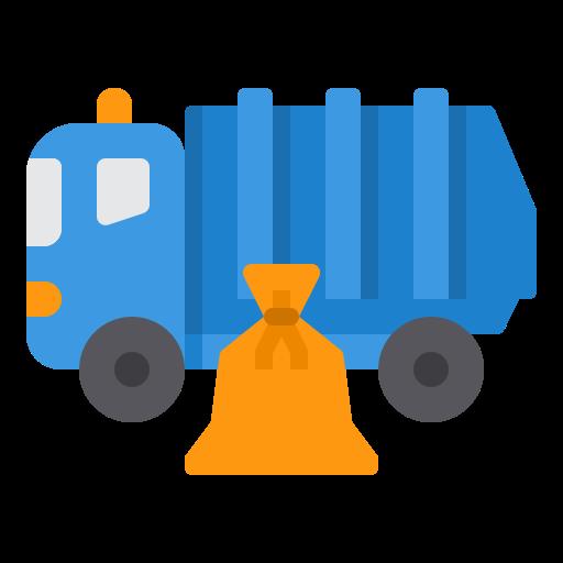 caminhão de lixo  grátis ícone