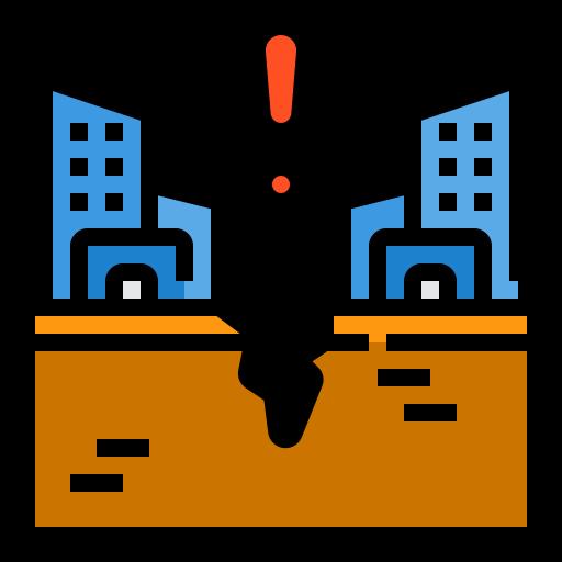 지진  무료 아이콘