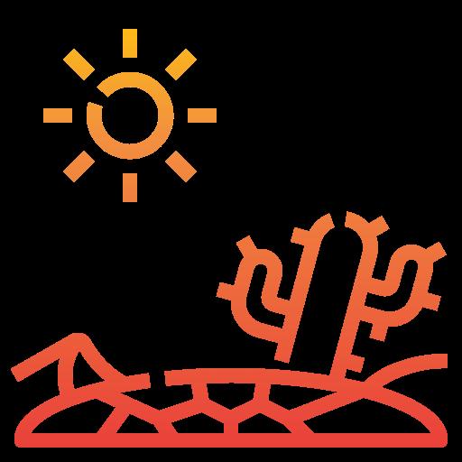 sequía  icono gratis