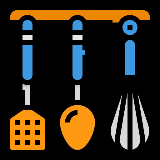 Kitchen utensils  free icon