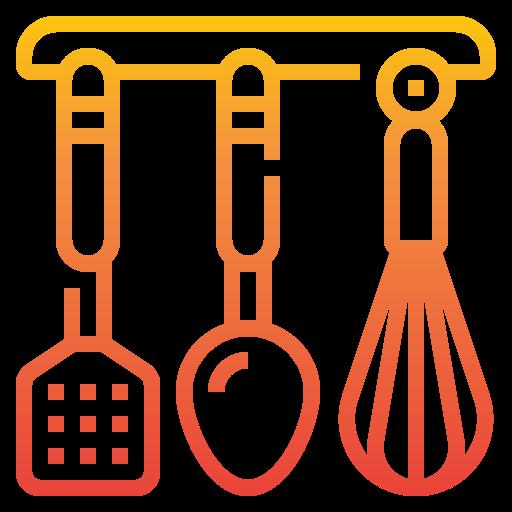 utensilios de cocina  icono gratis