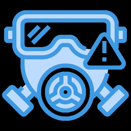 Gas mask  free icon