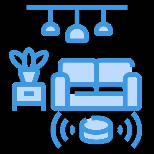 Living room  free icon