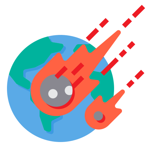 Meteorite  free icon
