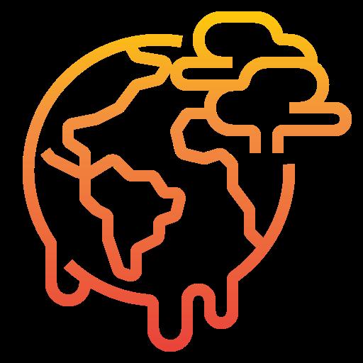 aquecimento global  grátis ícone