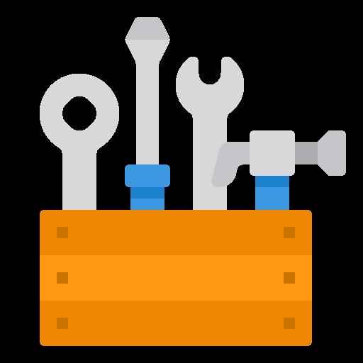 boîte à outils  Icône gratuit