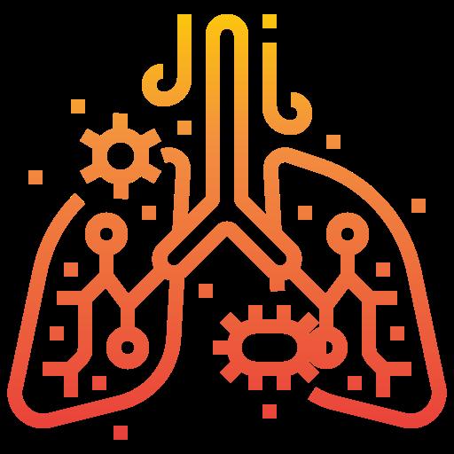 poumon  Icône gratuit