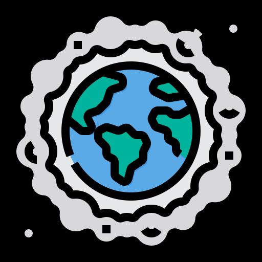 Air pollution  free icon