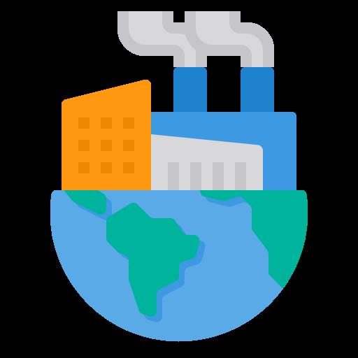 Pollution  free icon