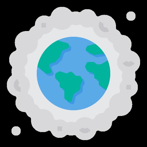 la pollution de l'air  Icône gratuit