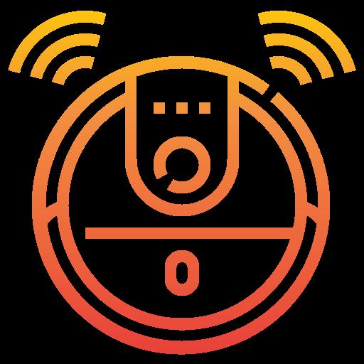 aspirador robot  icono gratis