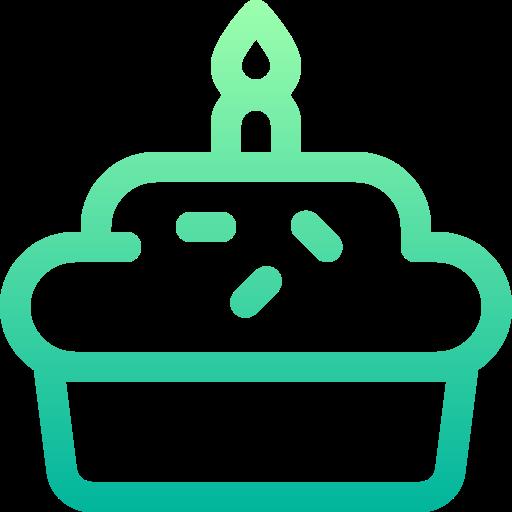 queque de aniversario  grátis ícone