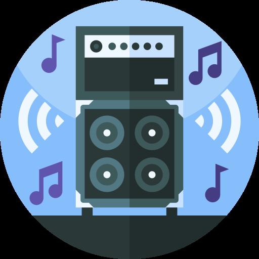 Звуковая система  бесплатно иконка
