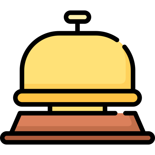 Hotel bell  free icon