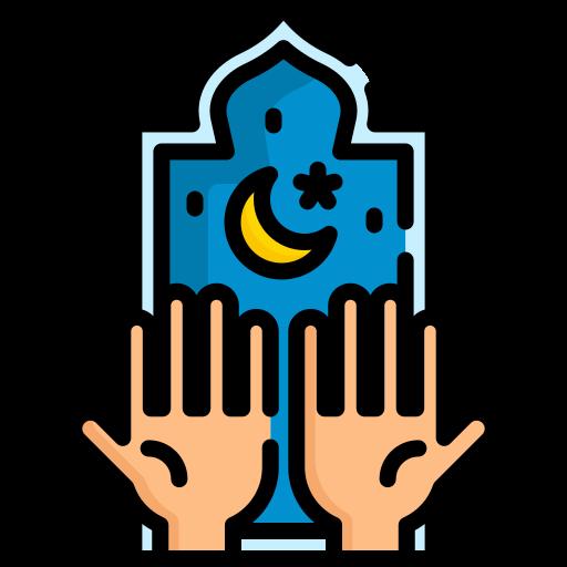 orando  icono gratis