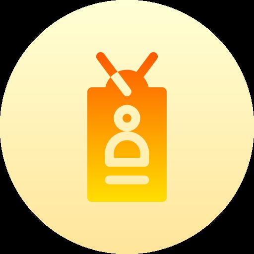 Идентификационная карта  бесплатно иконка