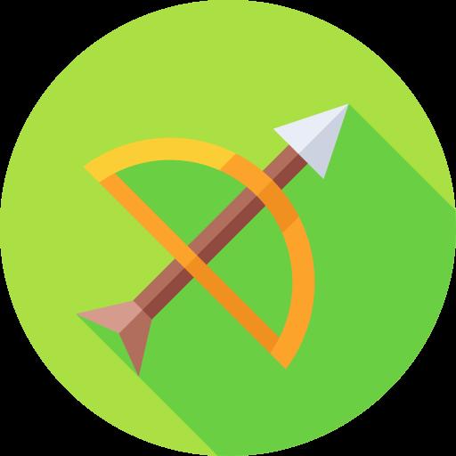 pfeil und bogen  kostenlos Icon