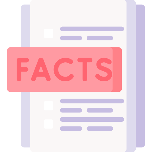 les faits  Icône gratuit