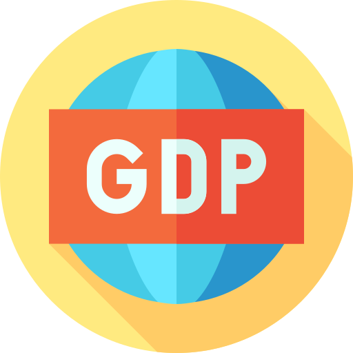 Gross domestic product  free icon