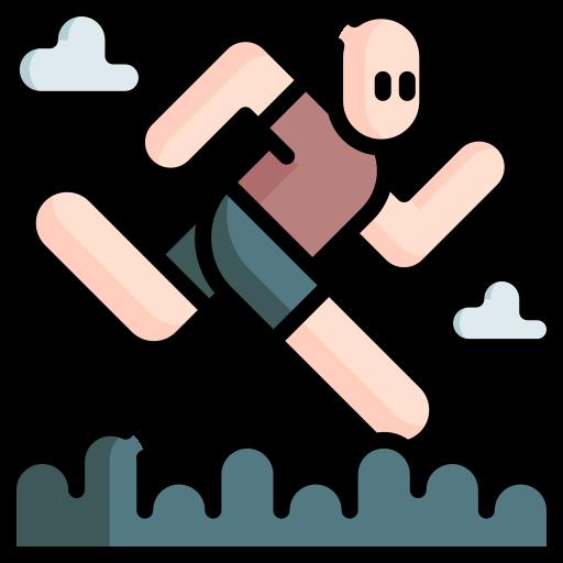corrida em trilha  grátis ícone